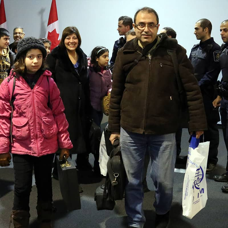 Canada has welcomed its first 10,000 Syrian refugees