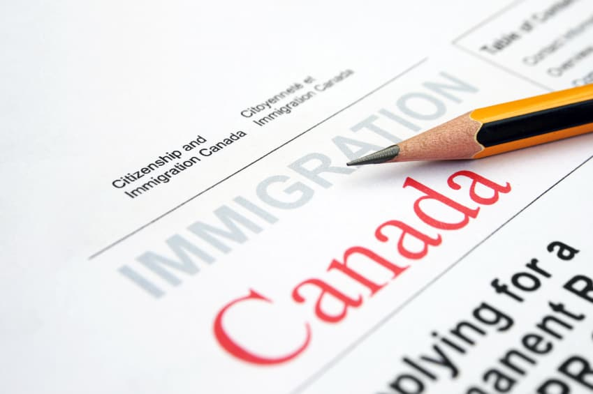 Immigration applicants