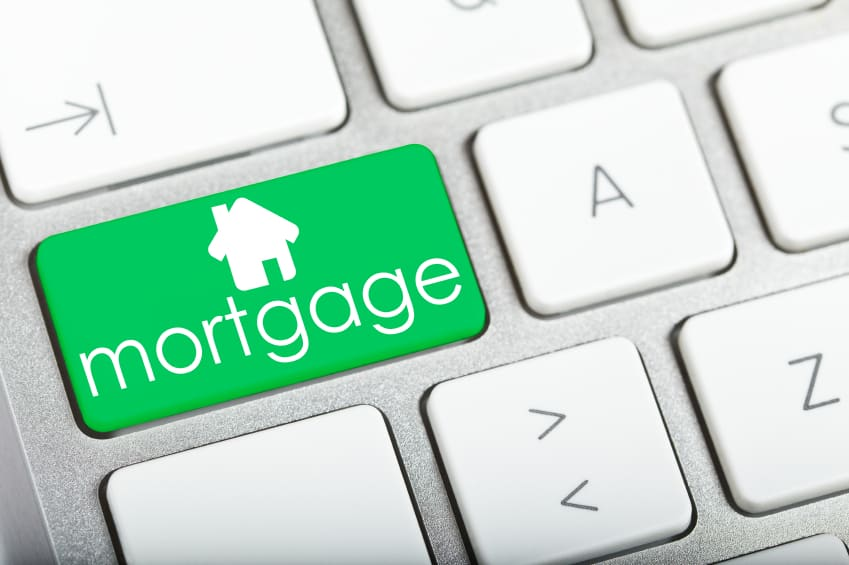 Mortgage keyboard button