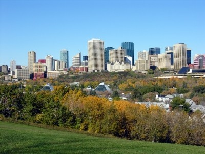 Living in Edmonton, Alberta