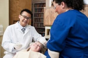 Immigrant dentist