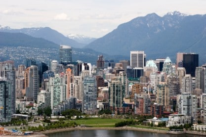 Living in Vancouver, B.C.