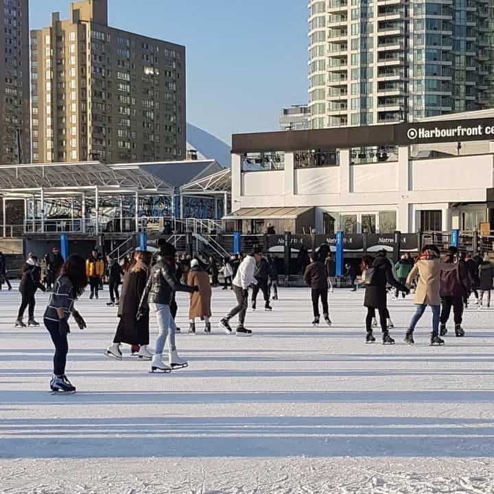 Winter season in Canada