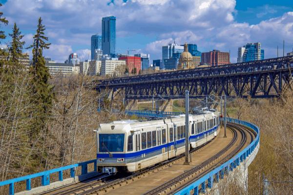 Transit System in Edmonton Moves You Affordably