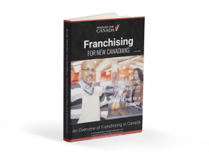 Franchising For New Canadians Ebook Cover