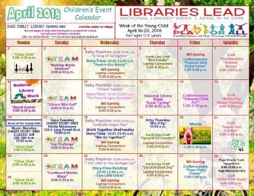 neighbourhood library events