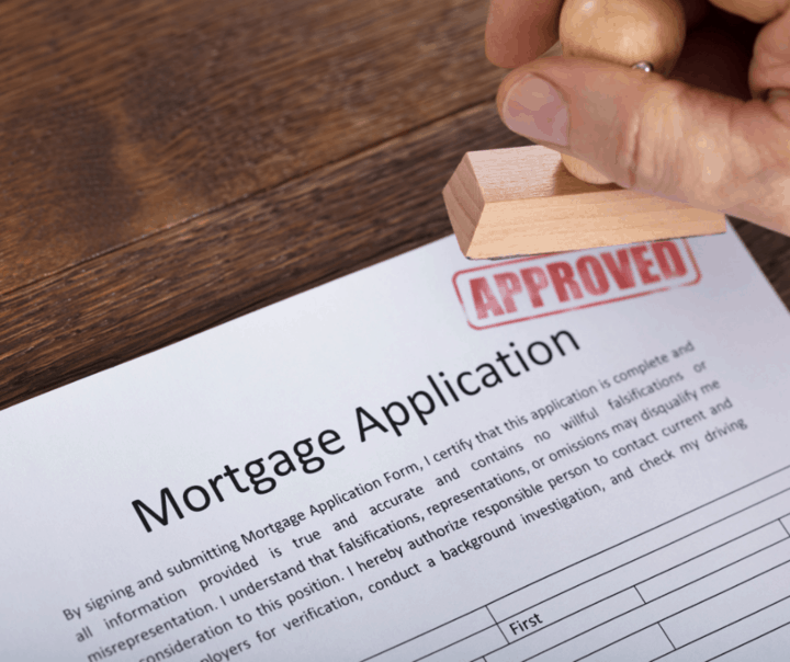 Mortgage approved credit report