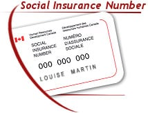 How do you find someones social insurance number in Canada
