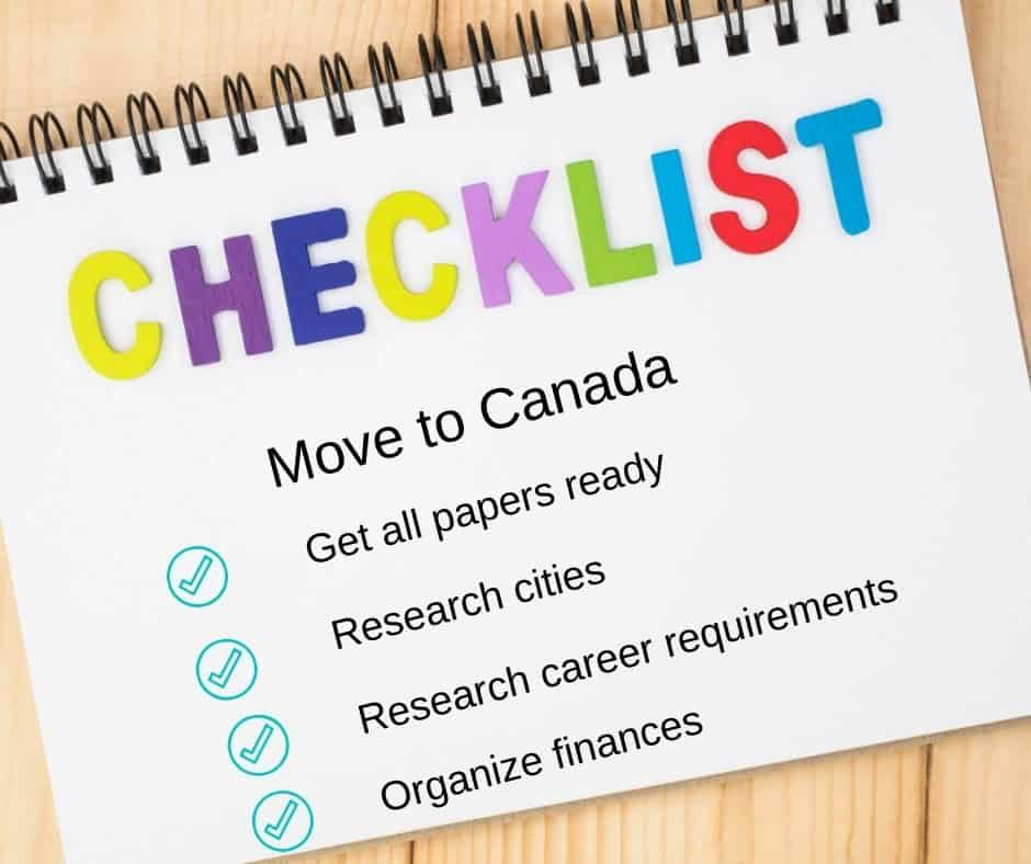 Checklist of top 8 things to know before you go to Canada