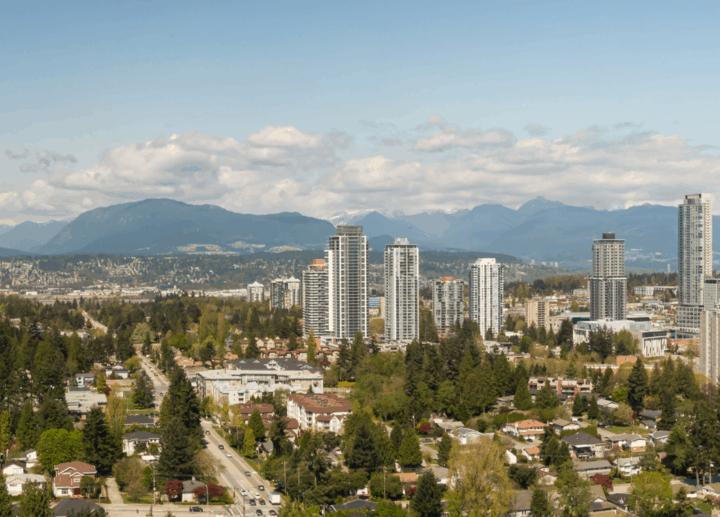 Living in Surrey, British Columbia