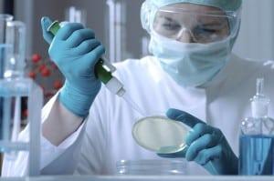 Biotechnology employee