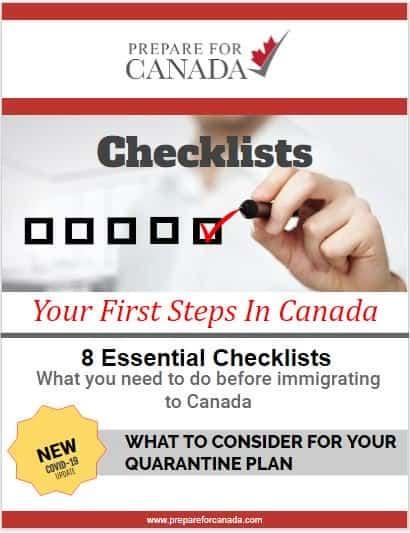 Checklist for Canada